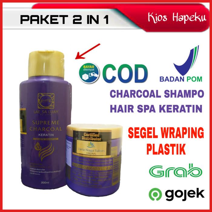 Foto Produk LAE SA LUAY BPOM PAKET 2 IN 1 HAIR PERFECTION / SHAMPOO / MASKER dari kios hapeku