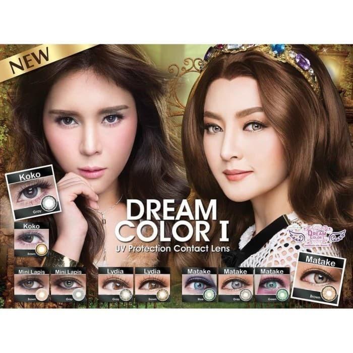 Foto Produk Softlens LISA By Dream Color1 (-0.25 s.d -4.00) Harga Satuan/Sebelah dari GoGo-Store