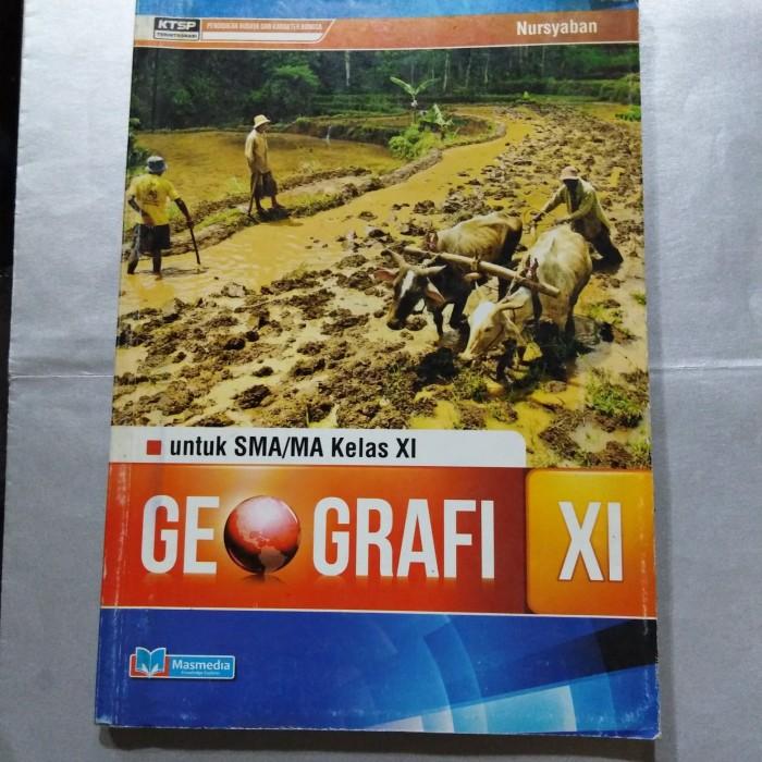Jual Buku Geografi Sma Ma Kls Kelas Xi 2 Masmedia Kurikulum Ktsp 2006 Kota Surakarta Merbabu Buku Merbabu Tokopedia