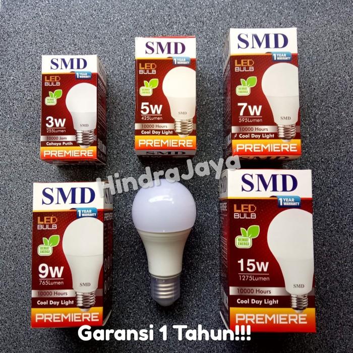 Foto Produk Lampu Led Bulb 15W / 15 Watt SMD Premiere Garansi 1 Tahun dari Hindrajaya