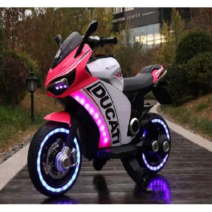 Foto Produk Mainan anak motor aki DUCATI motor GP HT - 6188 / RIDE ON dari bintangjaya toys