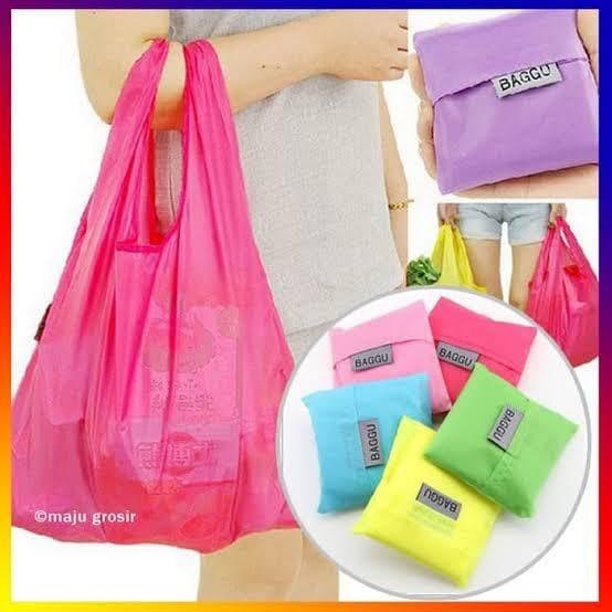 Foto Produk Kantong Belanja Baggu Bag Shopping Bag Tas Jinjing Lipat dari jaminmurah899
