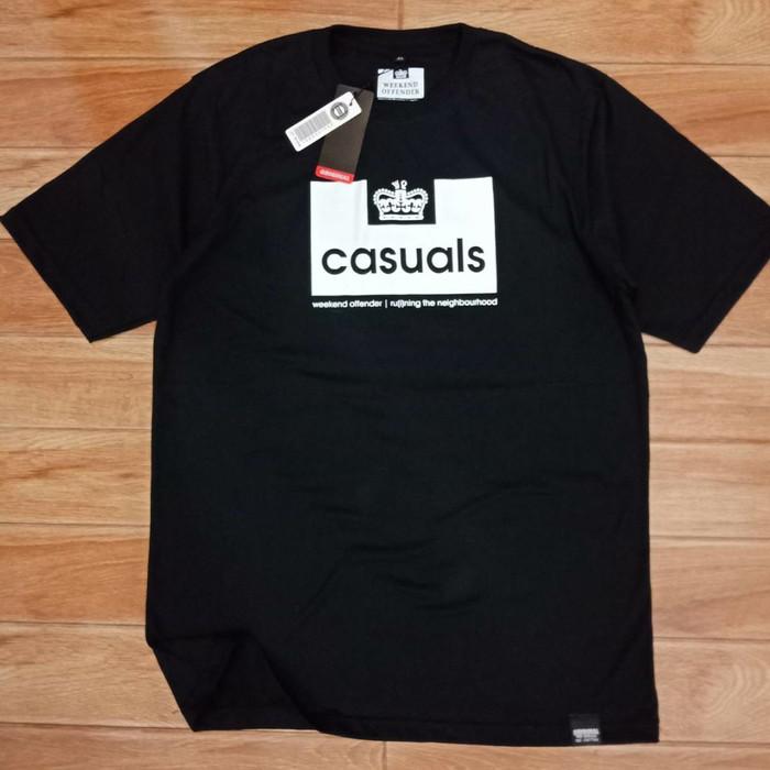 Foto Produk Kaos Tshirt WEEKEND OFFENDER Super Hitam Black dari EFOURS SHOP