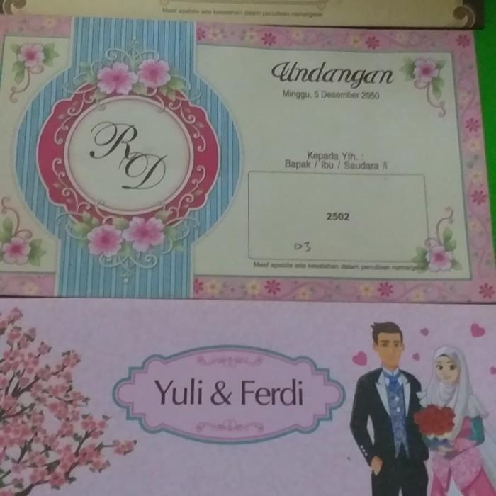 Jual Kartu Undangan 1500 Surat Undangan Kartu Undangan Pernikahan Undangan Hijau Jakarta Timur Omg Customizegoodiebag Tokopedia