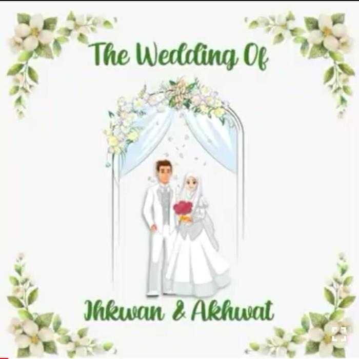 Jual Undangan Pernikahan Videodeo Ppt Kota Depok Undangan Pernikahan Digi Tokopedia