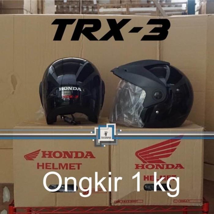 Foto Produk Helm Honda TRX-3 TRX3 TRX 3 ORI & SNI Half Face - SUPER SALE GROSIR dari Toysgraphy