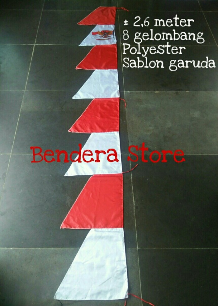 Jual Bendera Umbul Umbul Merah Putih 8 Gergaji Termurah Terlaris Jakarta Pusat Larisrex Tokopedia