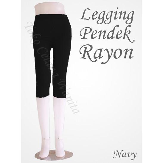 Jual Celana Legging Pendek Bahan Kaos Hitam Kota Depok Juragan Jilbab Polos Tokopedia