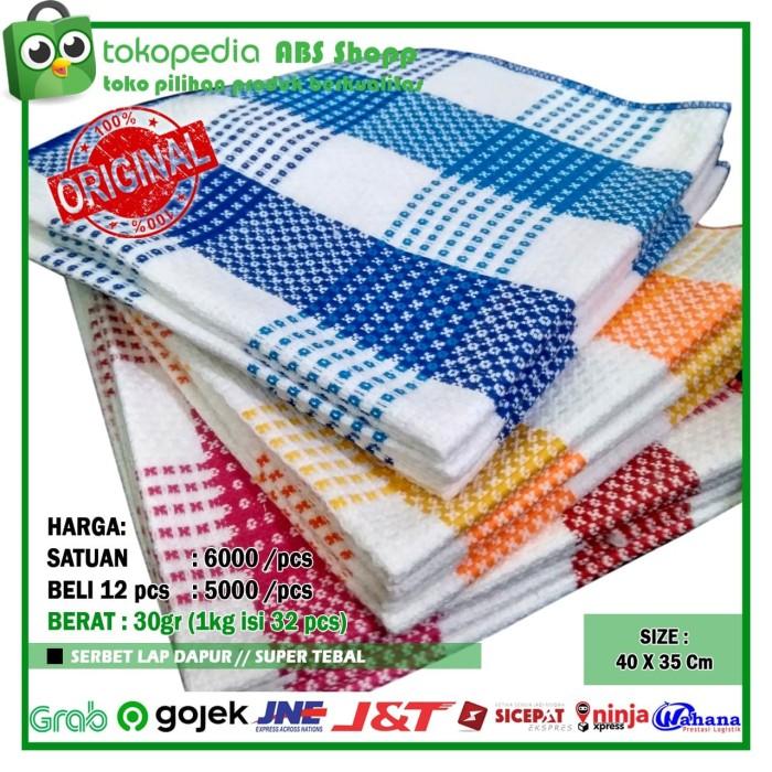 Foto Produk serbet / lap dapur / lap / kain lap dari ABS shopp