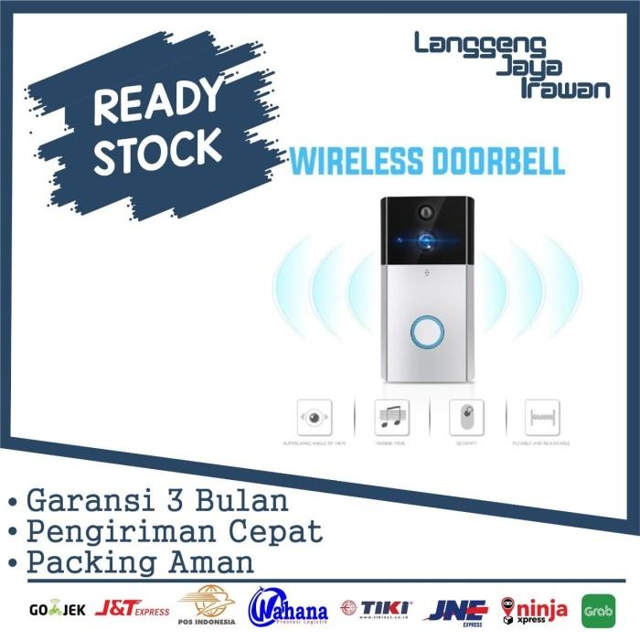 Foto Produk Wireless Video Door Bell Mobile Smart Phone Moniroting HD Smart Home dari langgengjayairawan