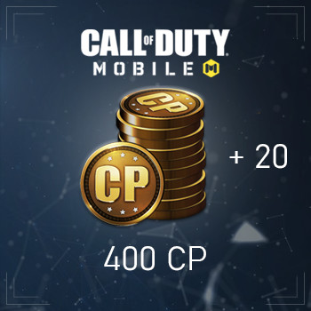 Jual 400 Cp Call Of Duty Mobile 20 Cp Jakarta Timur