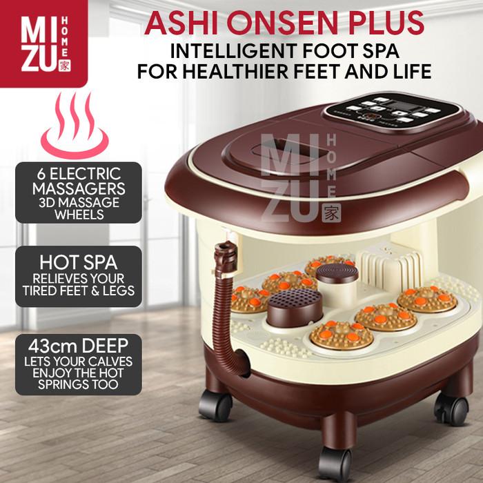 Jual Ashi Onsen Plus Mesin Pijat Kaki Foot Spa Electric Massager