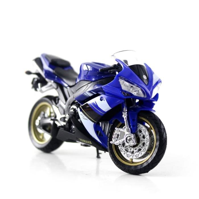 Foto Produk Diecast Miniatur Motor Yamaha YZF-R1 08 dari Mafemale
