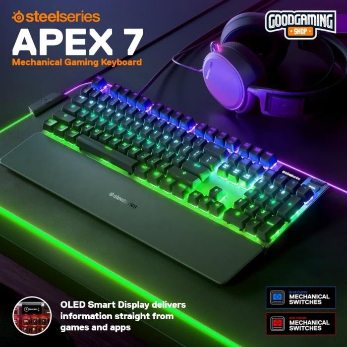 Foto Produk SteelSeries Apex 7 - Gaming Keyboard dari GOODGAMINGM2M