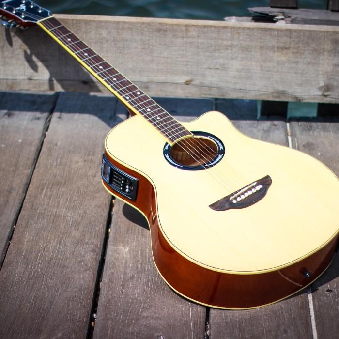 Foto Produk Gitar akustik elektrik apx500ii bonus tas+senarfender+pick dari JakartaUndercover.id