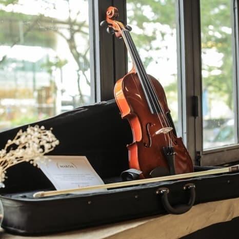 Foto Produk Biola Akustik 4/4 - Biola Makoa Full Set Hardcase - Violin Makoa dari sarabeautycare and music