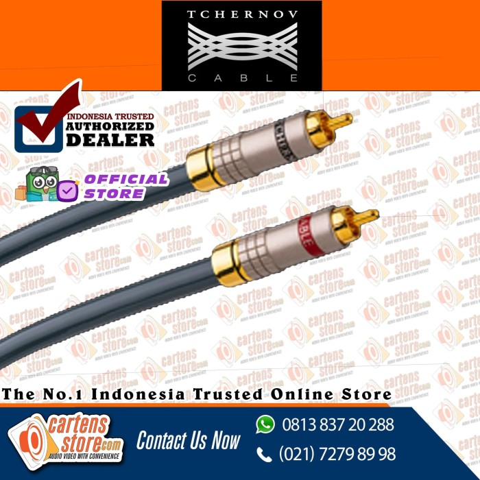 Foto Produk Tchernov Special Coaxial RCA Cable By Cartens Store dari Cartens Store