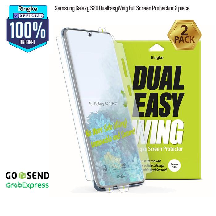 Foto Produk Ringke Samsung Galaxy S20/S20Plus/S20Ultra ScreenProtector AntiGores - S20 dari Official Ringke Partner