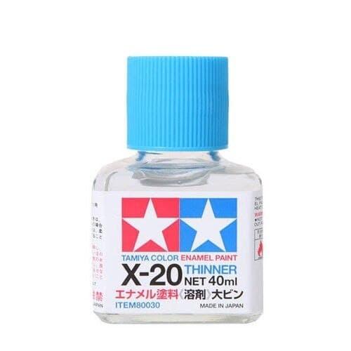 Foto Produk 80030 Tamiya X-20 Enamel Thinner (40 ml) dari Tamiyatoys