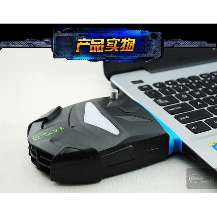 Foto Produk Vacuum Cooler Laptop Fan usb Vacum cooler Pendingin laptop Notebook - Hitam dari A M S