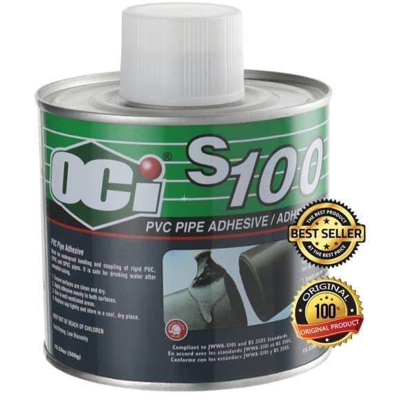 Foto Produk OCI S-100 Adhesive PVC Solvent (500GR) dari Impack Pratama