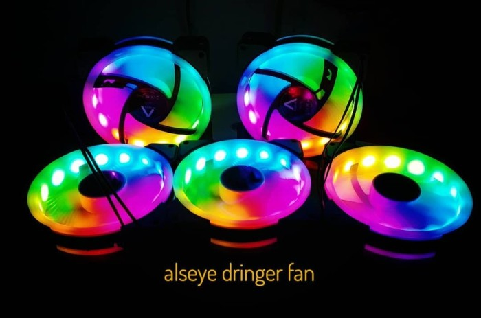 Foto Produk fan case alseye d-ringer auto rainbow - fan casing gaming alseye dari Khoirul Indahsari