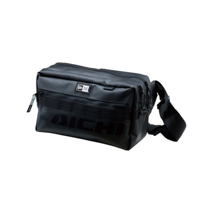 Foto Produk NEB001 NEWERA SQUARE WAIST BAG × TAICHI - ALL BLACK dari Helm Cargloss