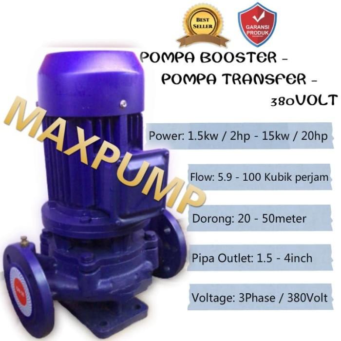 Jual Mesin Pompa Air Dorong Booster Pump Pompa Transfer ...