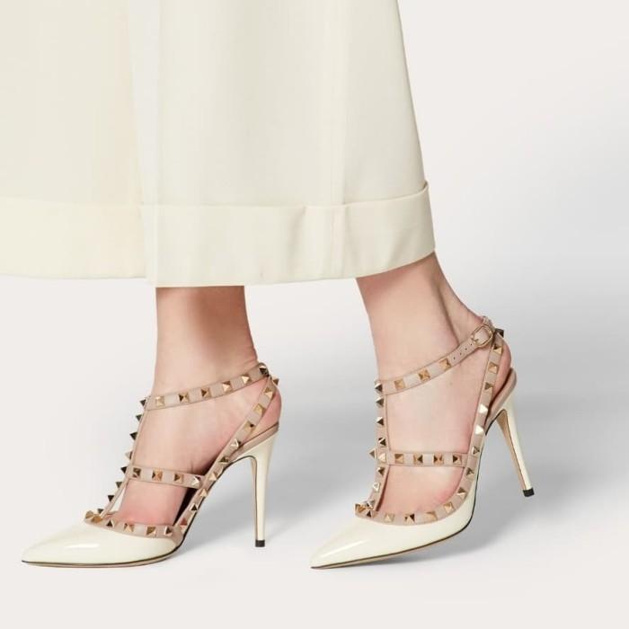 Foto Produk Valentino rock stud sepatu heels cewek wanita fashion 179 dari Howiee