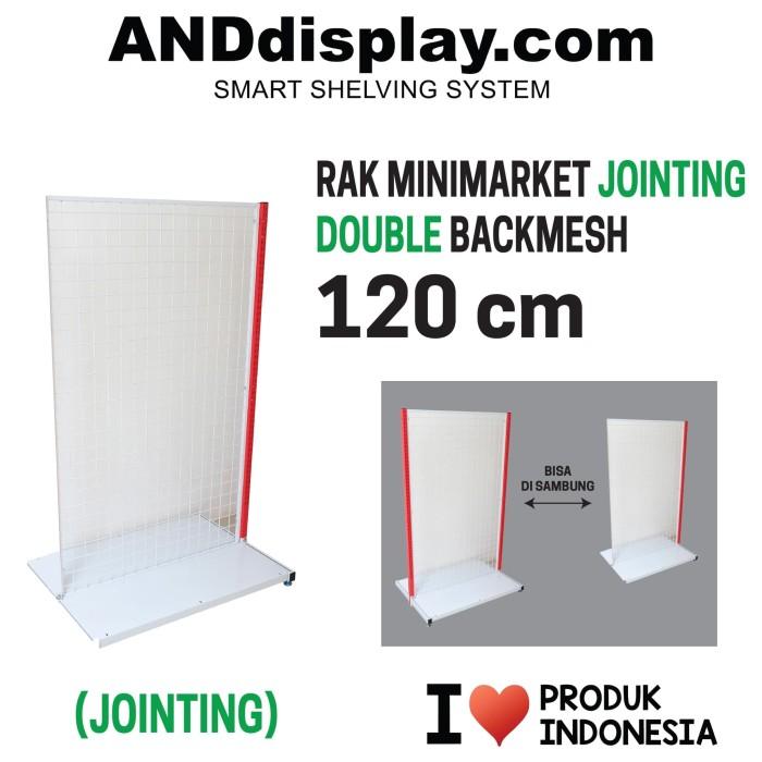 Foto Produk RAK MINIMARKET 120 CM ADJOINT DOUBLE BACKMESH RAK GONDOLA ANDDISPLAY dari SINAR KARYA RAKINDO