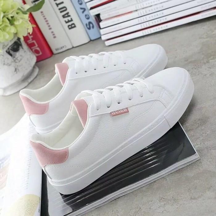 Jual Sepatu Wanita Kets Baier Sneakers Premium Kota Bekasi