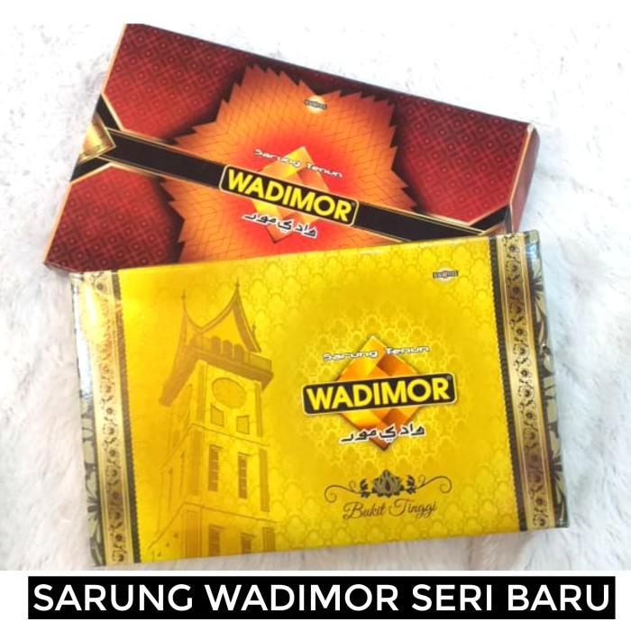 Foto Produk (GROSIR) Sarung Tenun Dewasa Wadimor Murah Halus Lembut dari Jaya Makmur Leo