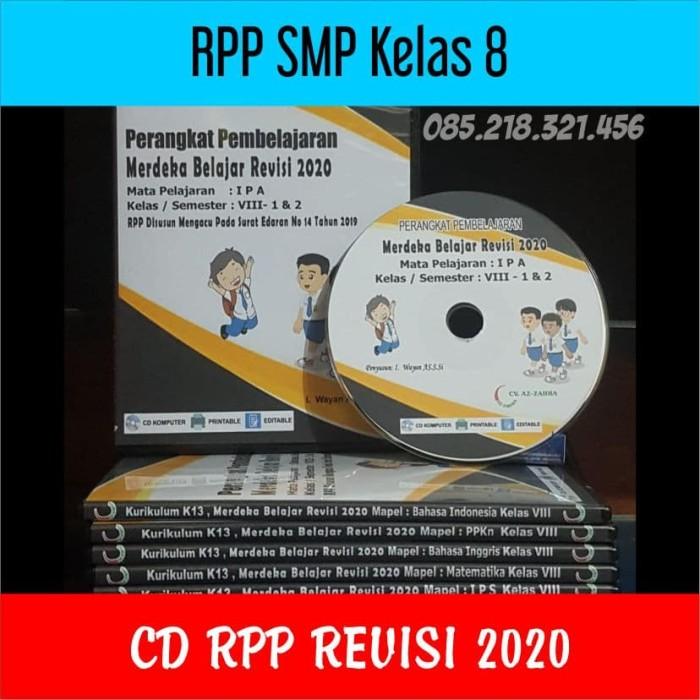 Foto Produk CD RPP SMP Kelas 8 Revisi 2020 Merdeka Belajar dari ti Tasik Com