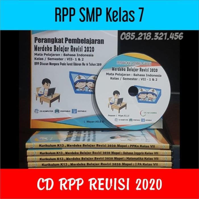 Foto Produk CD RPP SMP Kelas 7 Revisi 2020 Merdeka Belajar dari ti Tasik Com