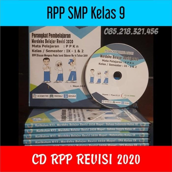 Foto Produk CD RPP SMP Kelas 9 Revisi 2020 Merdeka Belajar dari ti Tasik Com