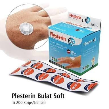 Foto Produk PLESTERIN Bulat Transparan Anti Air / Plester Bulat Transp Anti Air dari Tokita168