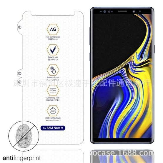 Foto Produk Hydrogel GLARE MATTE anti gores Samsung Note 8 9 screen guard dari Multi Store 12
