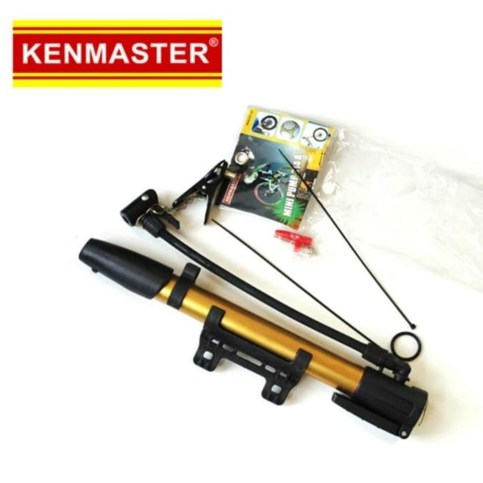 Foto Produk Kenmaster Pompa Sepeda Tabung Mini ALM KM(314A dari Gold-Mart