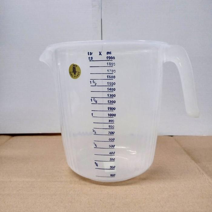 Foto Produk Gelas Ukur Plastik OWL 2 Liter dari lapak_jovan