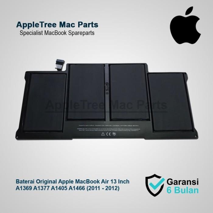 Foto Produk Baterai Original Apple A1369 A1377 A1405 A1466 MacBook Air 13 Inch dari Appletree Mac Parts