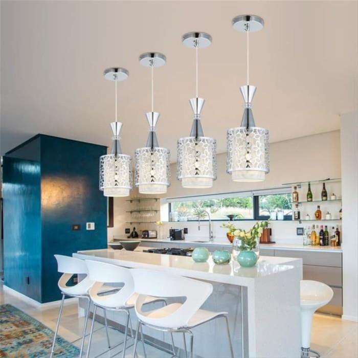 Jual Modern Crystal Iron Ceiling Light Pendant Lamp Dining Room Decor Jakarta Barat Word Store8992 Tokopedia