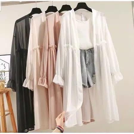 Jual Delaya outer baju atasan wanita fashion remaja ...