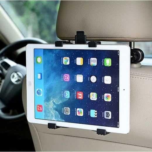 Foto Produk Backseat Mount Car Holder Mobil Tablet iPad 8-11 Inch Kepala Kursi dari Rella Acc