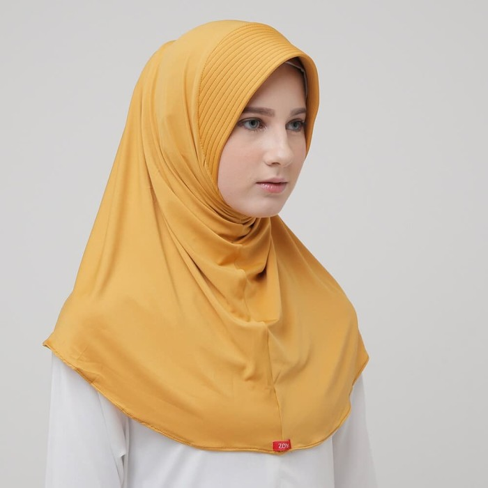 Foto Produk Hijab Bergo Zoya - MARSHA HL MUSTARD dari DaBest