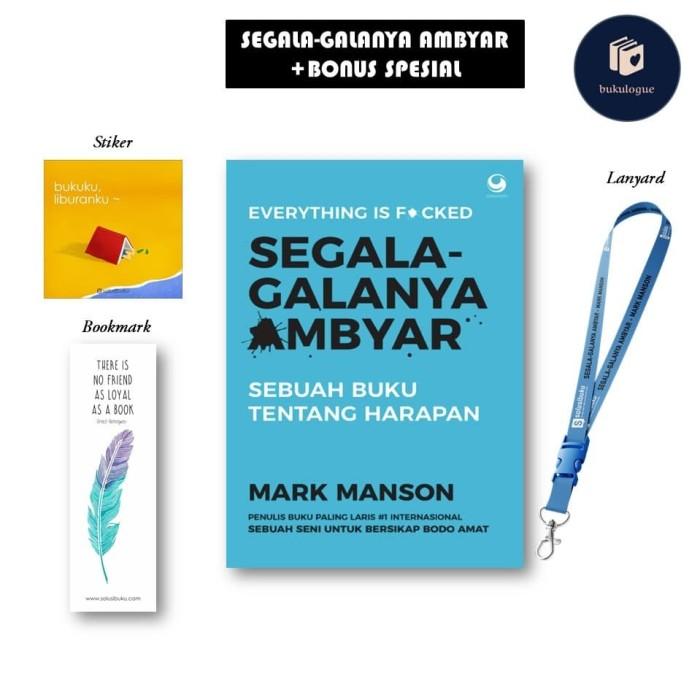 Jual Buku Segala Galanya Ambyar Mark Manson Free Stiker Amp