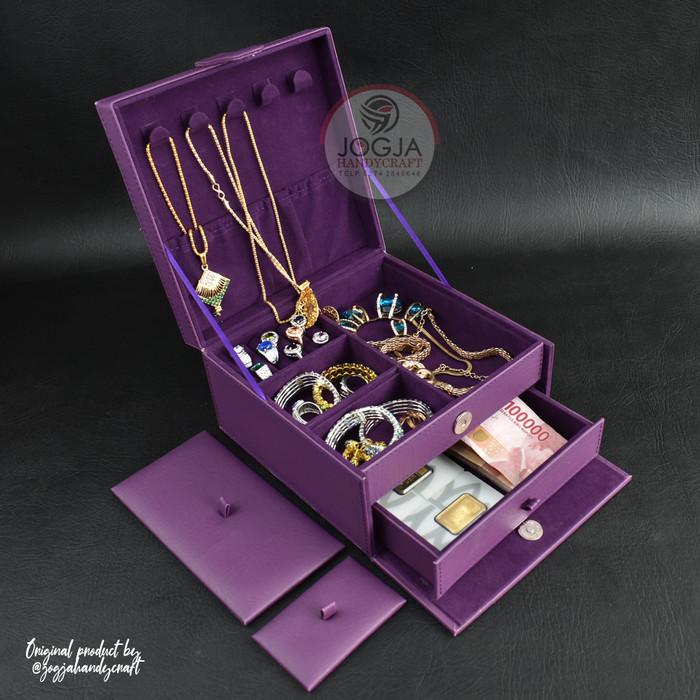 Jual Kotak Tempat Perhiasan Emas, Kalung, Gelang, Cincin ...