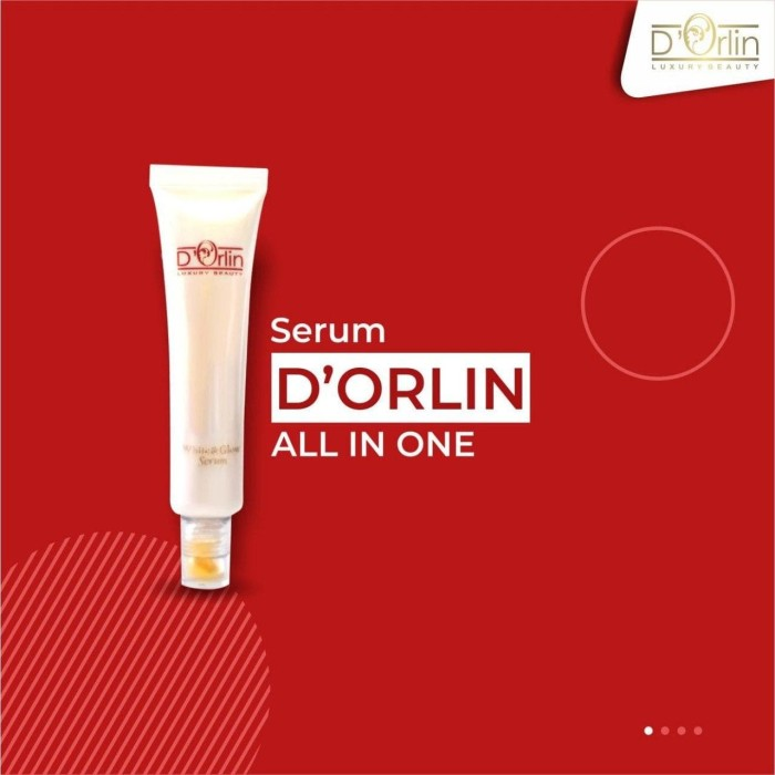 Foto Produk D`Orlin Serum White&Glow ++ Platinum 100% ORI dari orlinshop26810