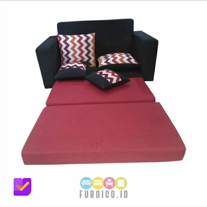 Jual Sofabed Sofa Bed Minimalis / Abu Hitam / MURAH