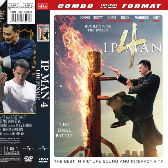 Foto Produk Kaset DVD film box office - Film IP MAN 4 THE FINALE dari FRIENDSTOREEE