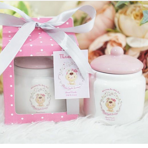 Jual Hampers Baby Souvenir One Month Jar Keramik Packing Box Warna Jakarta Pusat Mug Box Souvenir Tokopedia